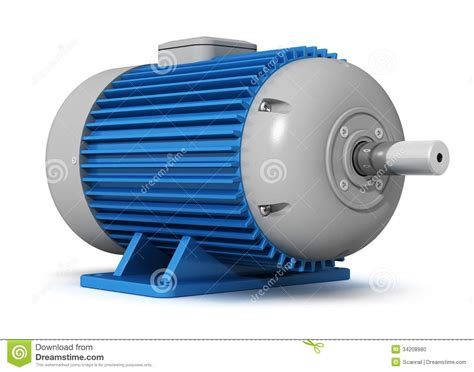 Big Electric Motor by Industrial Electric Motor Stock Photo Image 34208980
