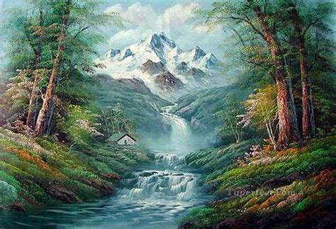 bob ross landscape paintings cheap freehand 12 bob ross landscape painting in