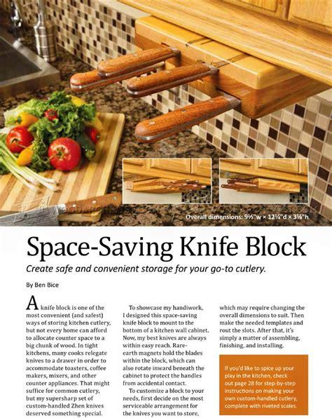 knife block woodworking plans diy knife block woodarchivist
