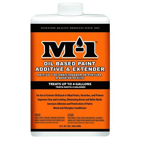 home depot paint extender m 1 1 qt based paint additive and extender 70232m