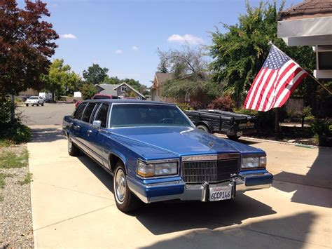 1992 Cadillac Brougham For Sale by Presidential Car 1992 Cadillac Brougham Limousine For Sale