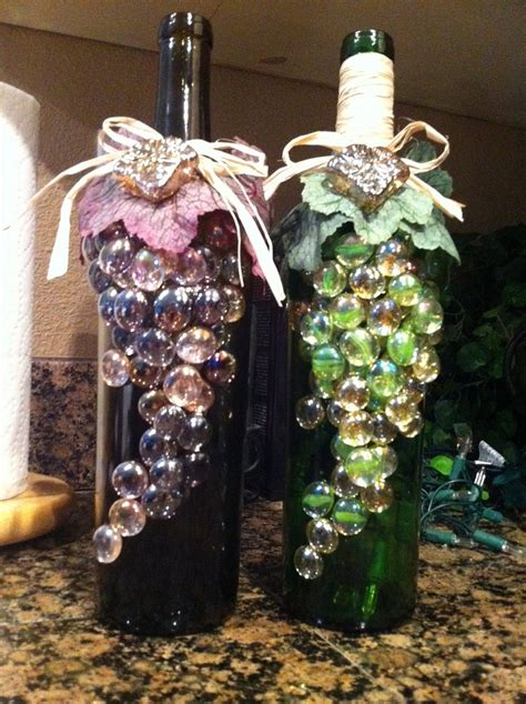 craft projects with wine bottles wine bottle craft project recycled wine bottle