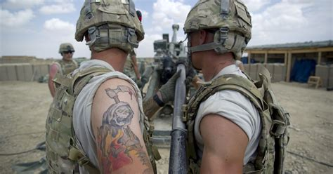 army eases rules on soldiers ink