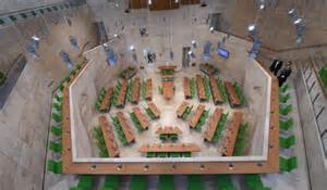 Front Foyer watch inside renzo piano s parliament for malta