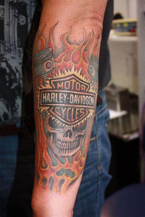Harley Davidson Tattoos Tribal by 24 Harley Engine Tattoos