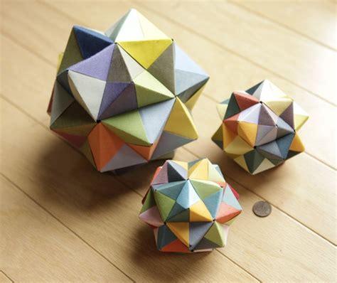 octahedron origami modular origami icosahedron octahedron cube 171 math craft