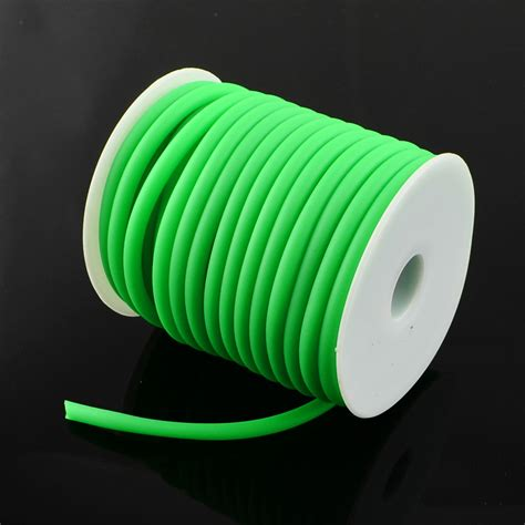 rubber sting supplies aliexpress buy 5mm silicone rubber cord hollow