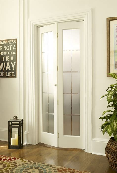 bifold closet doors with frosted glass colonial frosted glass bifold door in unfinished or