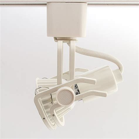 gu10 light fixtures gu10 mr16 white wire gimbal ring track light fixture