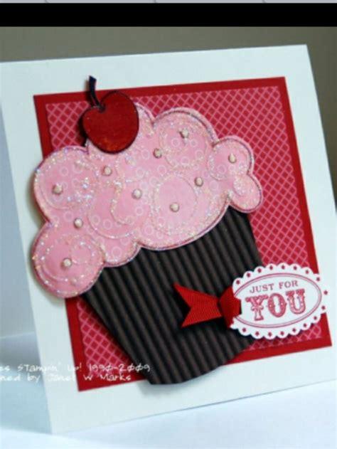 cupcake cards to make cupcake birthday card diy card