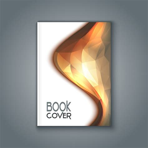 free pictures for book covers book cover with polygonal design vector free