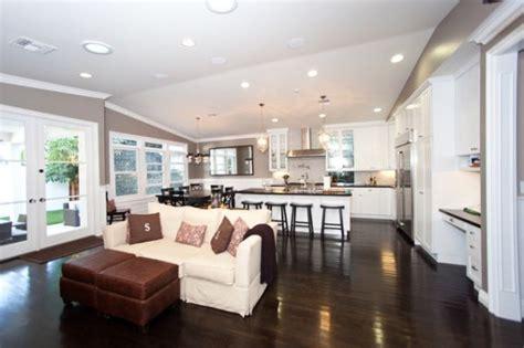 open kitchen living room design five beautiful open kitchen interior designs