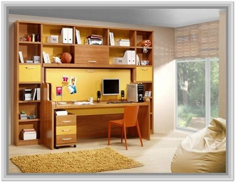 desk and bookshelf desk and bookcase unit combo home design ideas