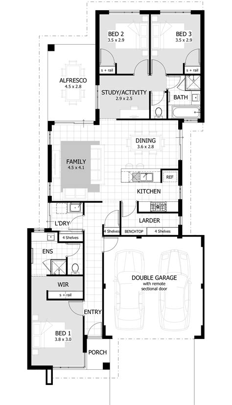 floor plans for a three bedroom house floor plan for a small house 1150 sf with 3 bedrooms and 2