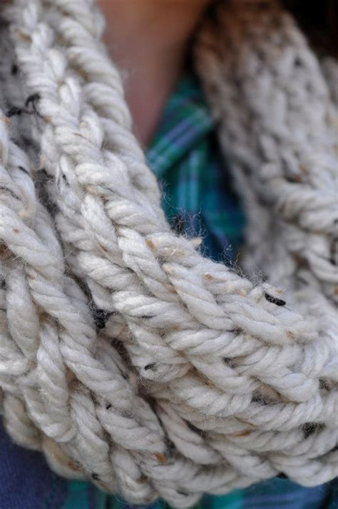 how to finger knit a thick scarf chunky finger knit scarf wheat knit scarves and