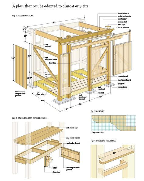 woodworking plans free outdoor shower wood plans diy woods
