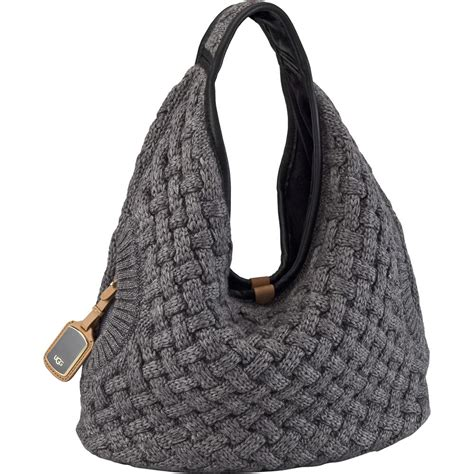how to knit a purse ugg 174 knit hobo bag s glenn