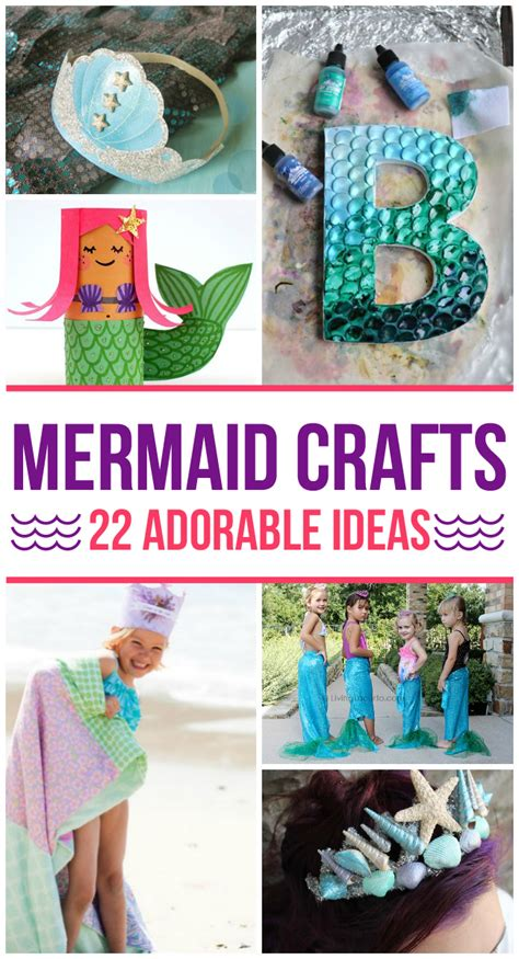 crafts activities for 22 adorable mermaid crafts for