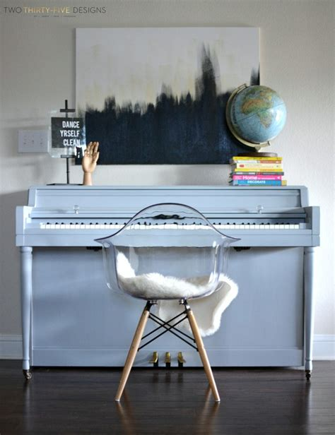 chalk paint piano chalk painted piano two thirty five designs