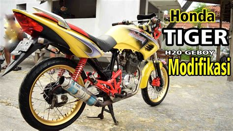 Modifikasi Motor Tiger by Kumpulan Modif Honda Tiger Elegan Terkeren Botol Modifikasi