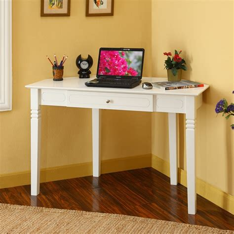 corner bedroom desk corner desks for small spaces white corner desk with one