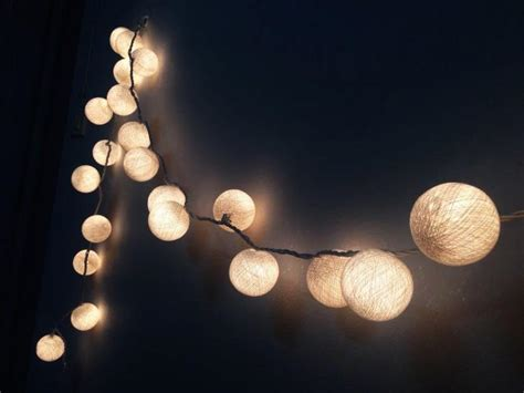cotton string lights snow white cotton string lights for patio wedding