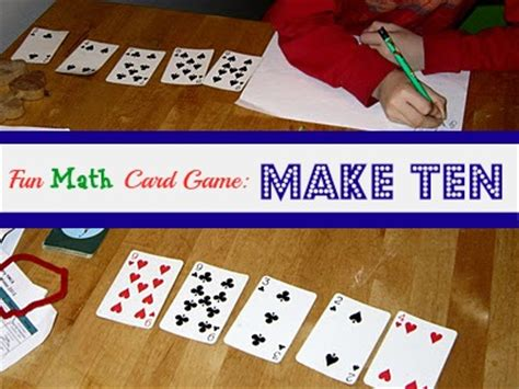 make 10 card one more awesome math card from what do we do all day