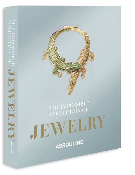 jewelry books assouline book gathers the ultimate jewelry collection