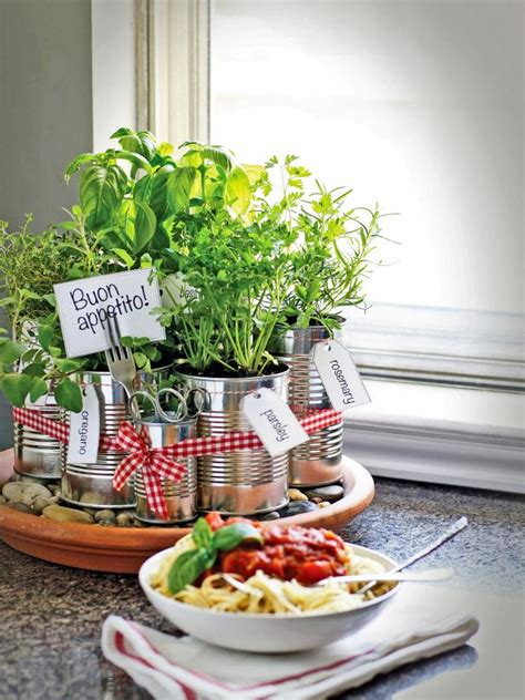 Thyme In Your Kitchen by Grow Your Own Kitchen Countertop Herb Garden Hgtv