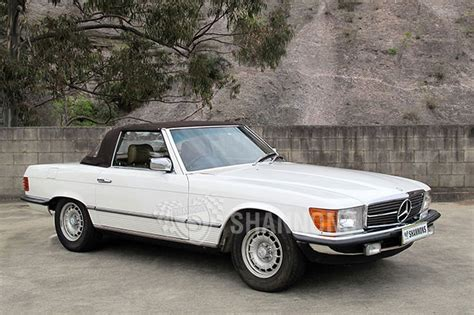 Mercedes 380sl Convertible by Sold Mercedes 380sl Convertible Auctions Lot 17