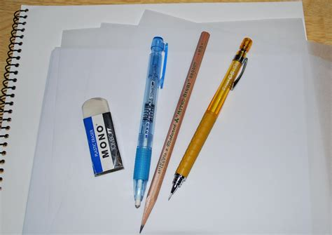 Basic Drawing Tools You Need For Your Drawings