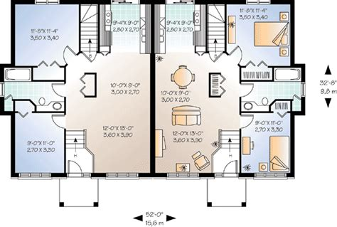 family floor plans house plans for two families homes floor plans