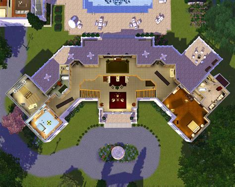 sims floor plans 27 sims 3 floorplans ideas building plans 85677