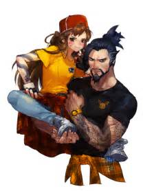 hanzo and d va