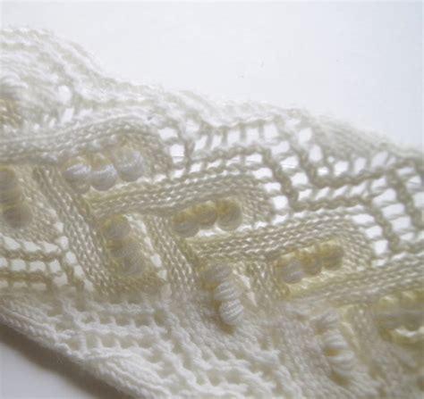 knitting lace patterns knitted lace pattern with nupps pattern duchess