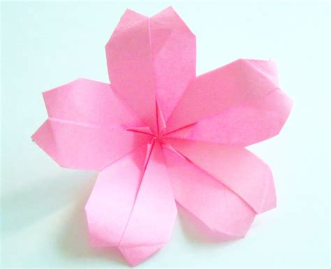 flower origami origami origami cherry blossom