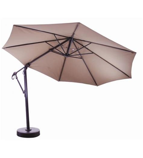 galtech patio umbrellas 11 ft octagon cantilever galtech 887 patio umbrella
