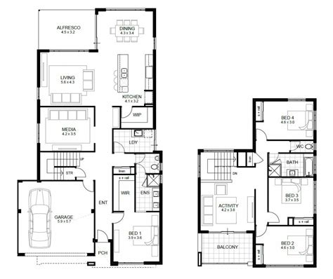 house plans with large bedrooms awesome free 4 bedroom house plans and designs new home plans design