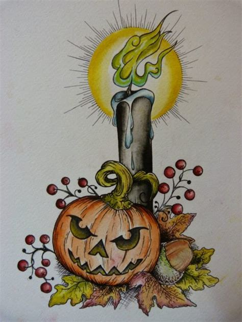 pumpkin blossom tattoo pictures to pin on pinterest