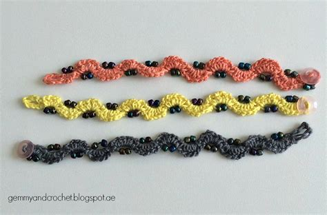 crochet beaded bracelet pattern all about crochet free pattern beaded crochet chain bracelet