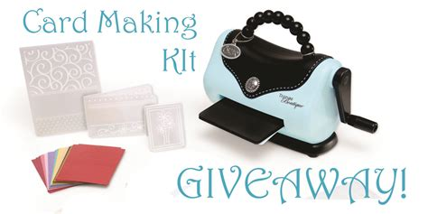 card kits for beginners giveaway of a card beginner s kit from hobbycraft