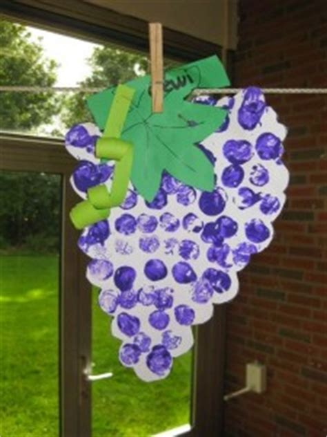 grapes craft for fruit craft idea for crafts and worksheets for