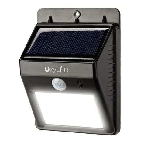 solar powered outdoor lights oxyled sl30 bright outdoor led light solar powered
