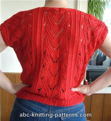 free knitting patterns for summer tops summer top free knitting pattern from the sleeve