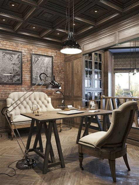 home design vintage modern 25 best ideas about industrial office design on