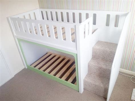 low bunk beds with stairs best 20 low bunk beds ideas on bunk beds with