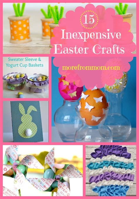 inexpensive crafts 15 inexpensive easter crafts more from