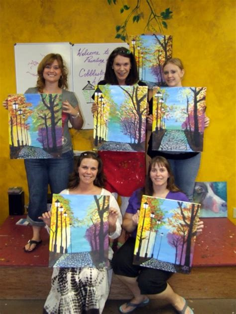 paint with a twist nlr ar news quot painting with a twist quot in the woodlands