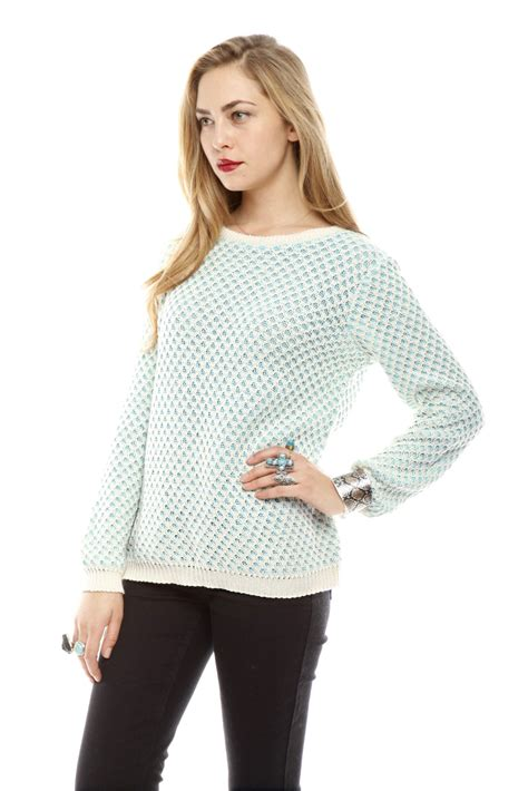 honeycomb knit sweater relais honeycomb knit sweater from arlington by the orange