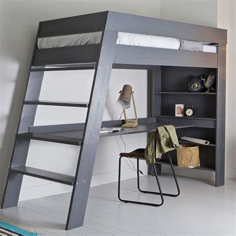 childrens bunk bed with desk best 25 loft bed desk ideas on bunk bed with